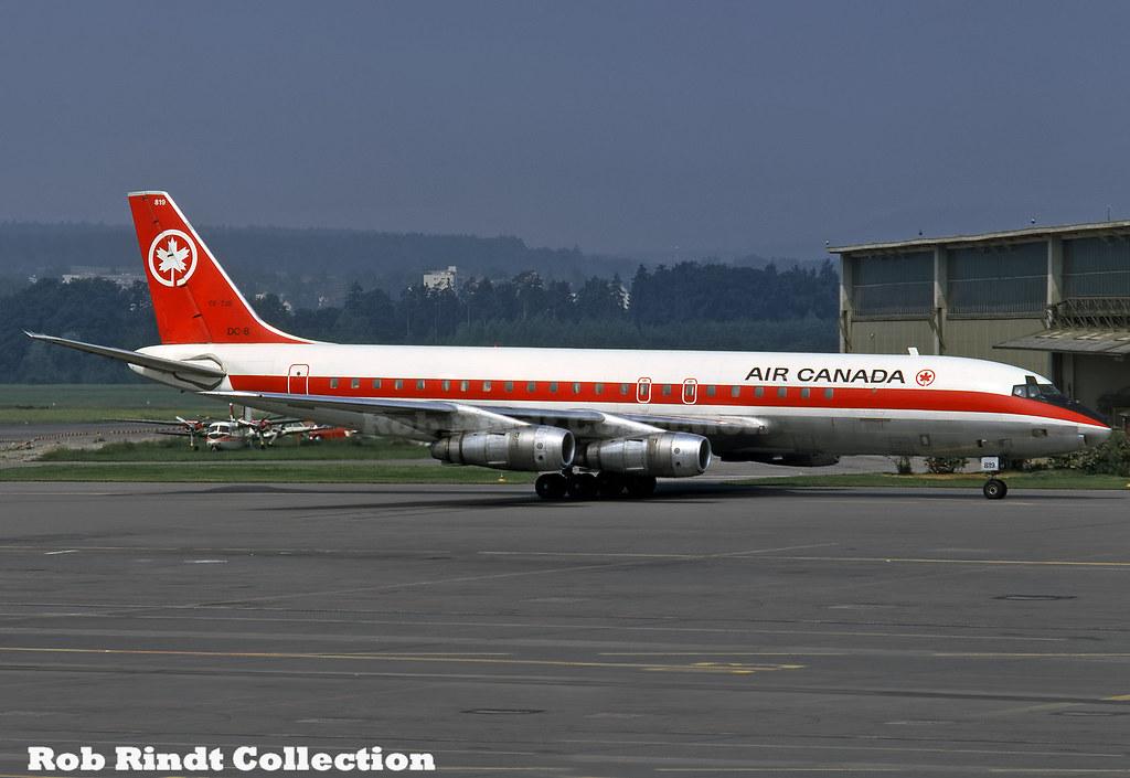 Air Canada DC-8-54 CF-TJS