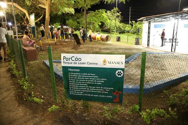 08.08.2019 Prefeitura inaugura Parcão na sede da mini vila olímpica Santo Antônio