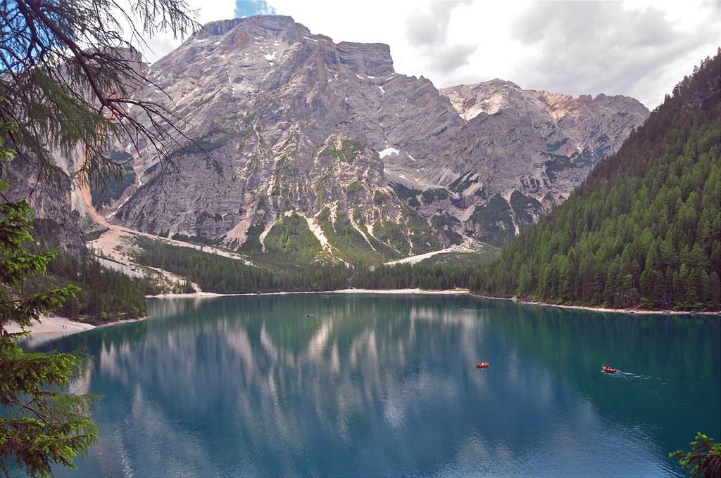 Walking the Lago di Braies track