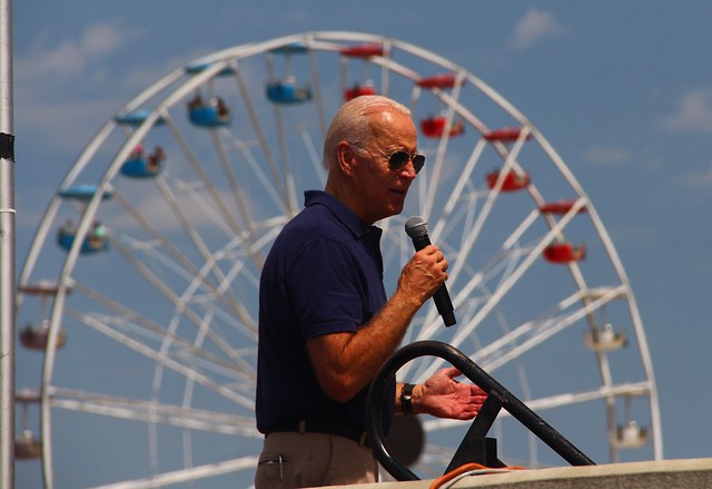 Joe Biden at the Fair
