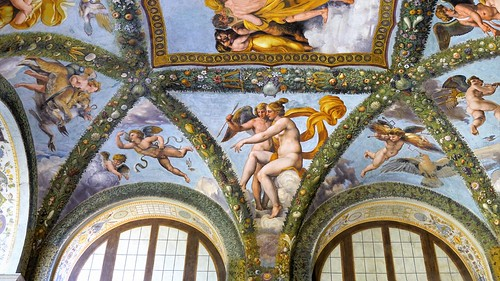 Venus points out Psyche to Cupid