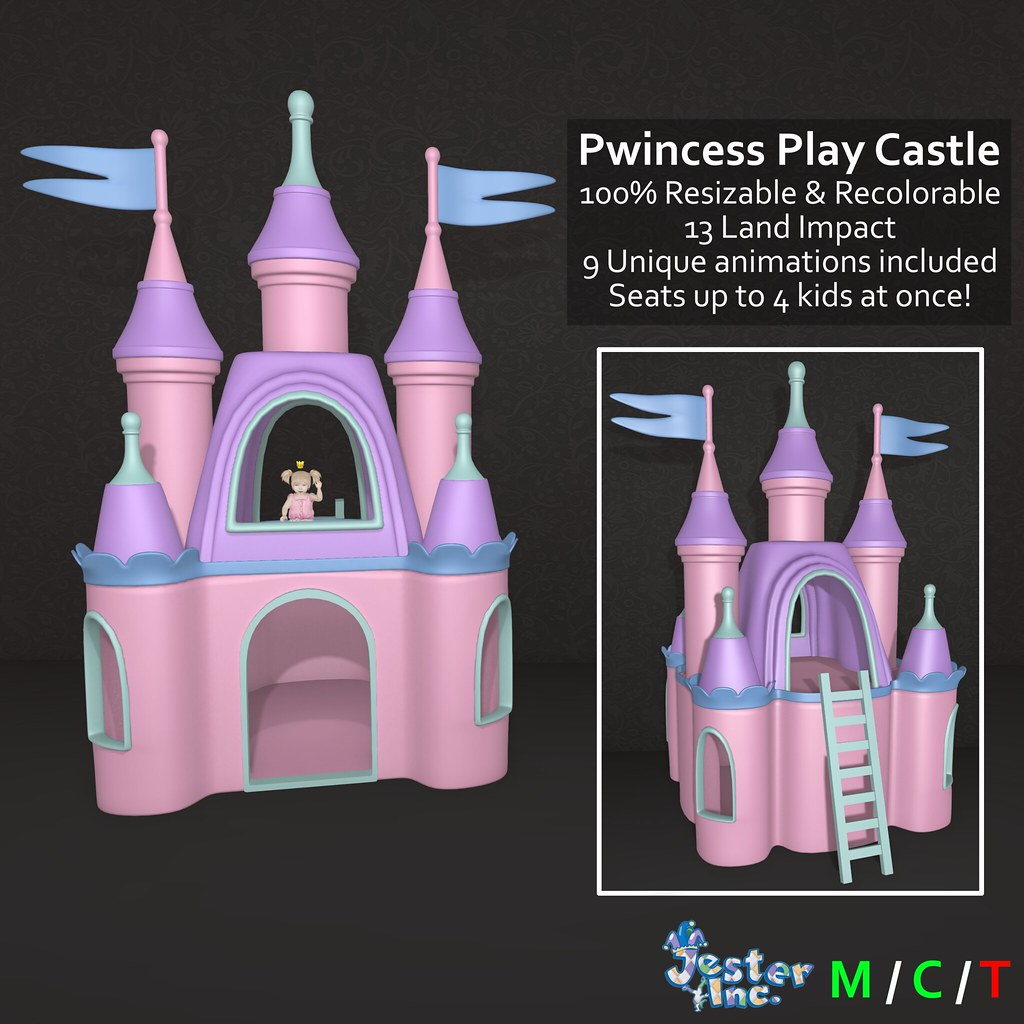 Presenting the new Pwincess Play Castle from Jester Inc.