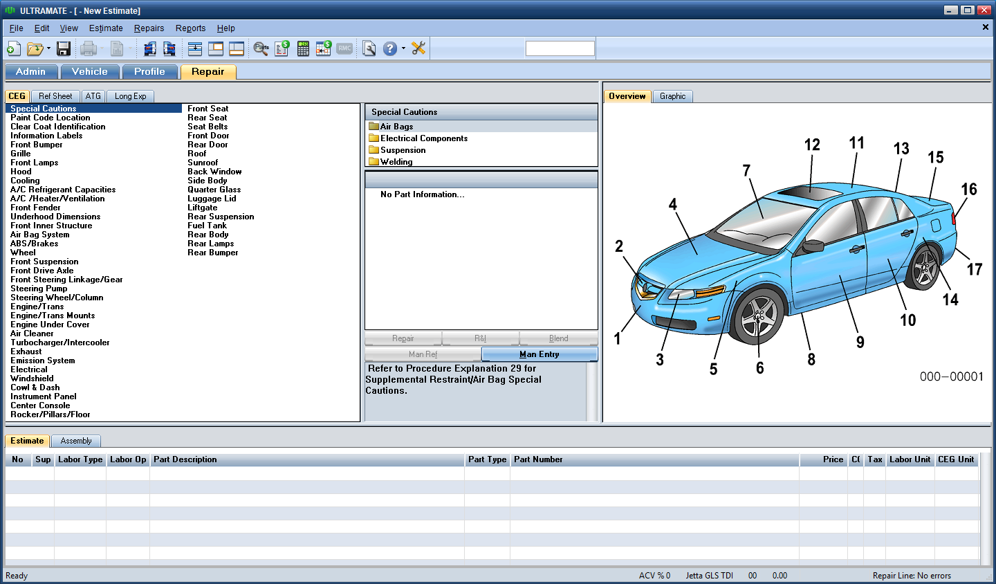 Working with Mitchell Ultramate Estimating 7.1.236 full license