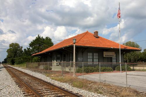 Maplesville, AL train depot
