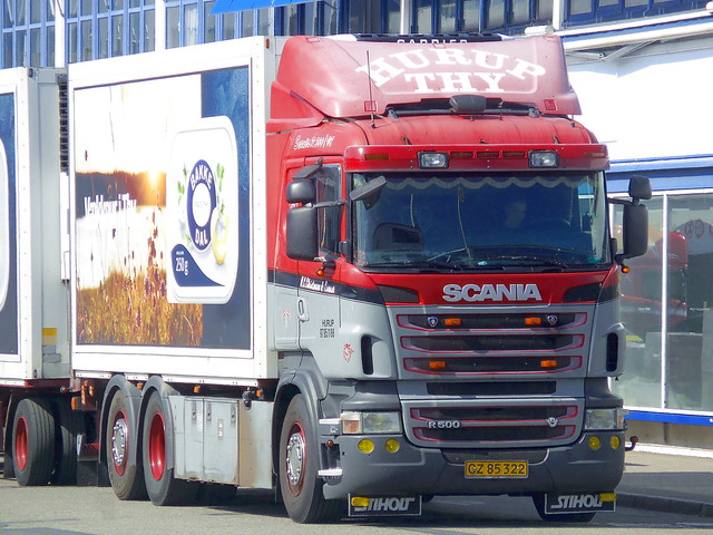 Sun faded Scania R500 v8 CZ85322