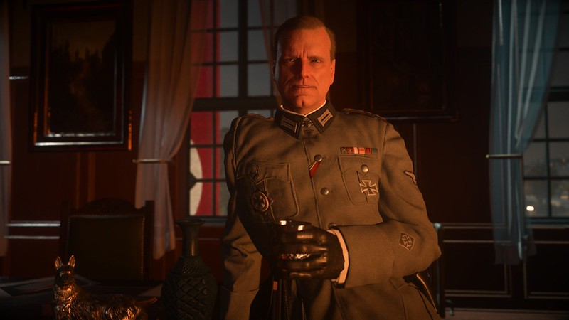 Call of Duty WW2 - Postura alemana atractiva