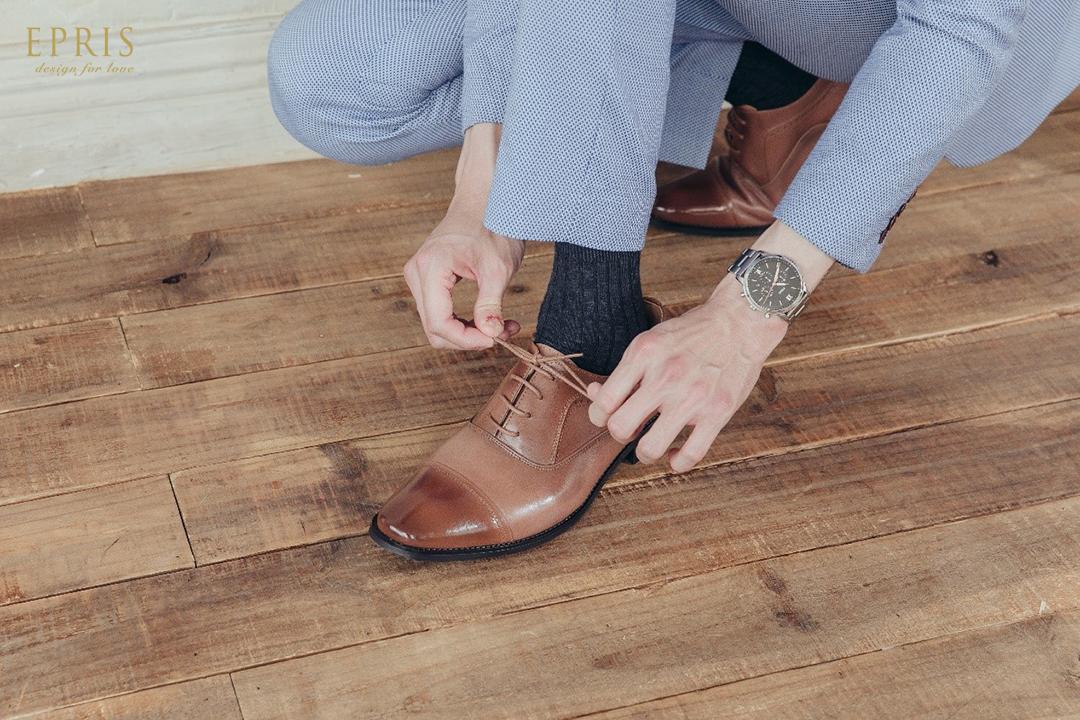 棕色皮鞋 簡約皮鞋
