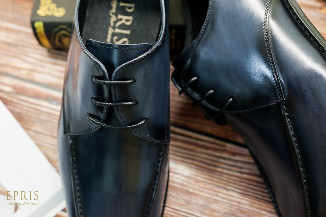 藍色皮鞋 皮鞋 紳士鞋