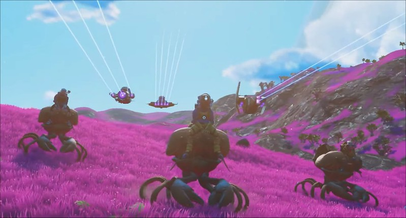No Man's Sky Beyond - Mounts