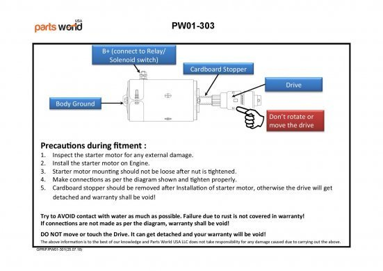 Wiring Diagram for Ford F100 Starter