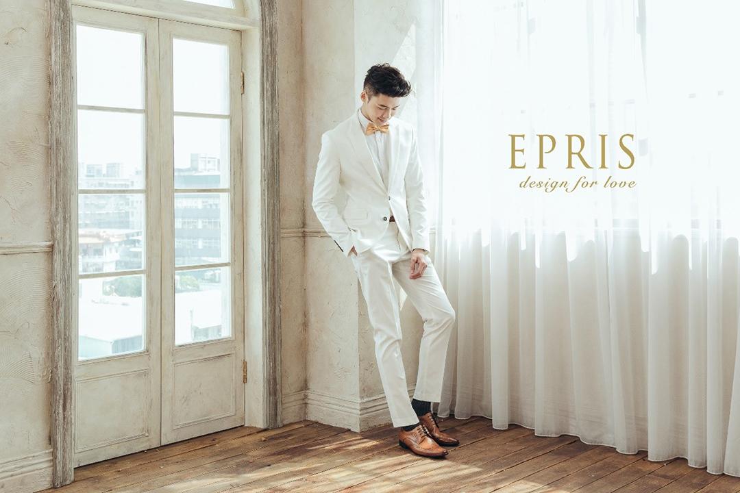 白色西裝 皮鞋 棕色皮鞋