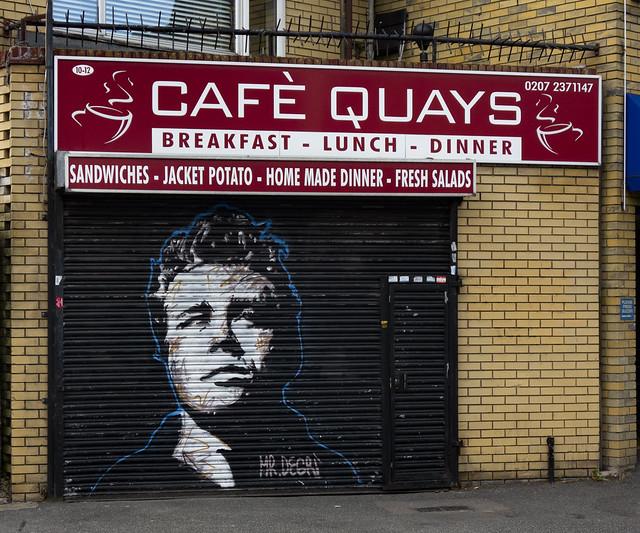 Cafè (sic) Quays, Surrey Quays