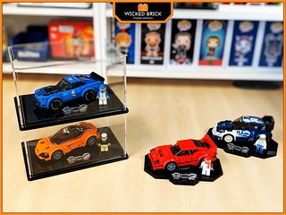 10% off Wicked Brick Speed Champions display solutions