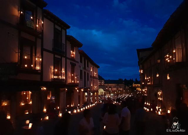 Noche de las velas en Peñaranda de Duero (11)
