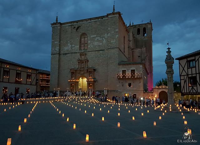 Noche de las velas en Peñaranda de Duero (7)