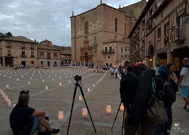 Noche de las velas en Peñaranda de Duero (6)