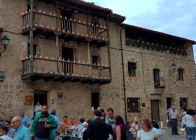 Noche de las velas en Peñaranda de Duero (4)