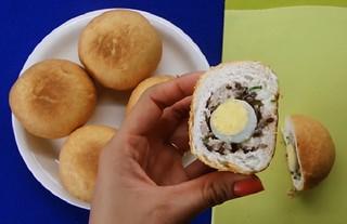 cách làm bánh bao chiên | dumpling
