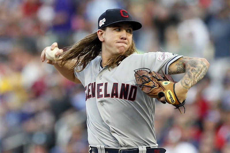 Mike Clevinger。(達志影像資料照)