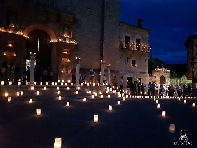 Noche de las velas en Peñaranda de Duero (10)