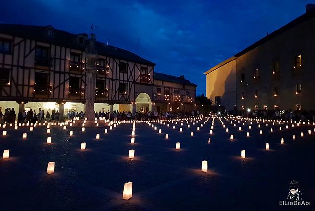 Noche de las velas en Peñaranda de Duero (9)
