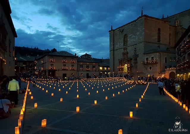 Noche de las velas en Peñaranda de Duero (8)