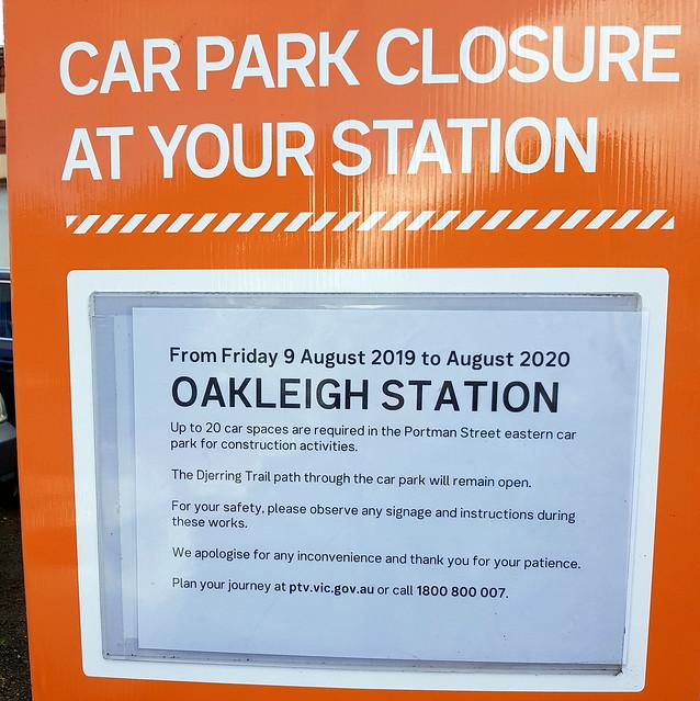 Oakleigh station upgrades