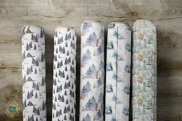 Woodland Animals fabric Spoonflower