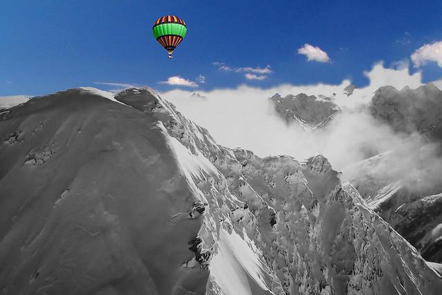 FRANCE - Alps - Les Trois-Évêchés (massif)