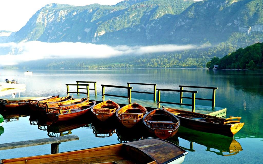 Venelaituri Bohinj-järvellä