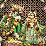 ISKCON Punjabi Bagh Deity Darshan 09 Aug 2019