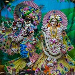 ISKCON Vrindavan Deity Darshan 09 Aug 2019
