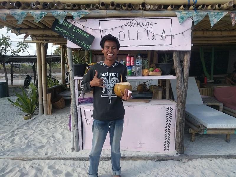 Warung Kolega en Tanjung Aan