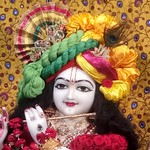 ISKCON Narasaraopet Deity Darshan 09 Aug 2019