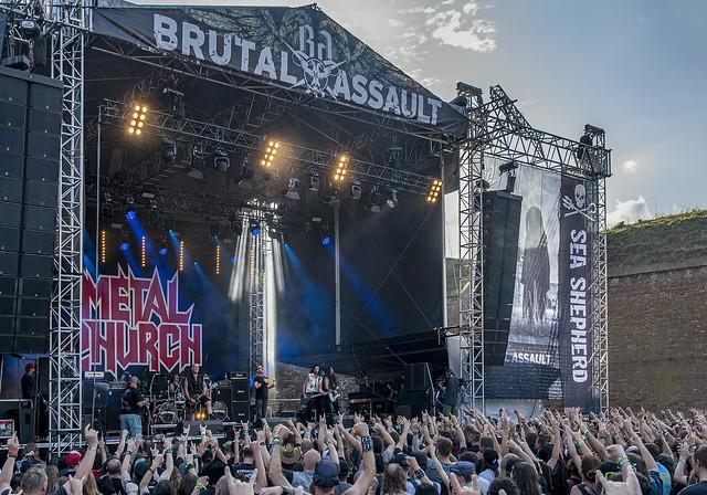 Metal Church @ 2019 Brutal Assault