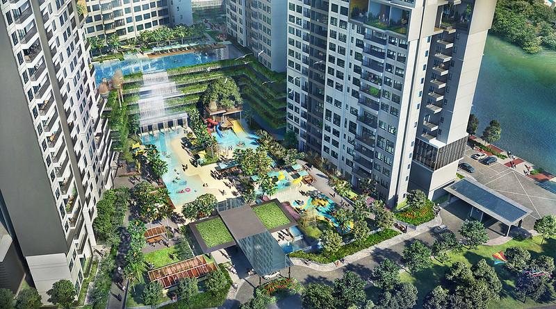 Hệ thống tiện ích là thế mạnh tại dự án căn hộ The Infiniti được Keppel Land đầu tư bài bản.