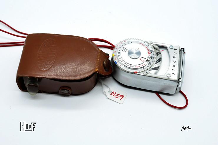 __DSC9239 Fotómetro de mão Hanimex Sekonic L-8 Leader Deluxe