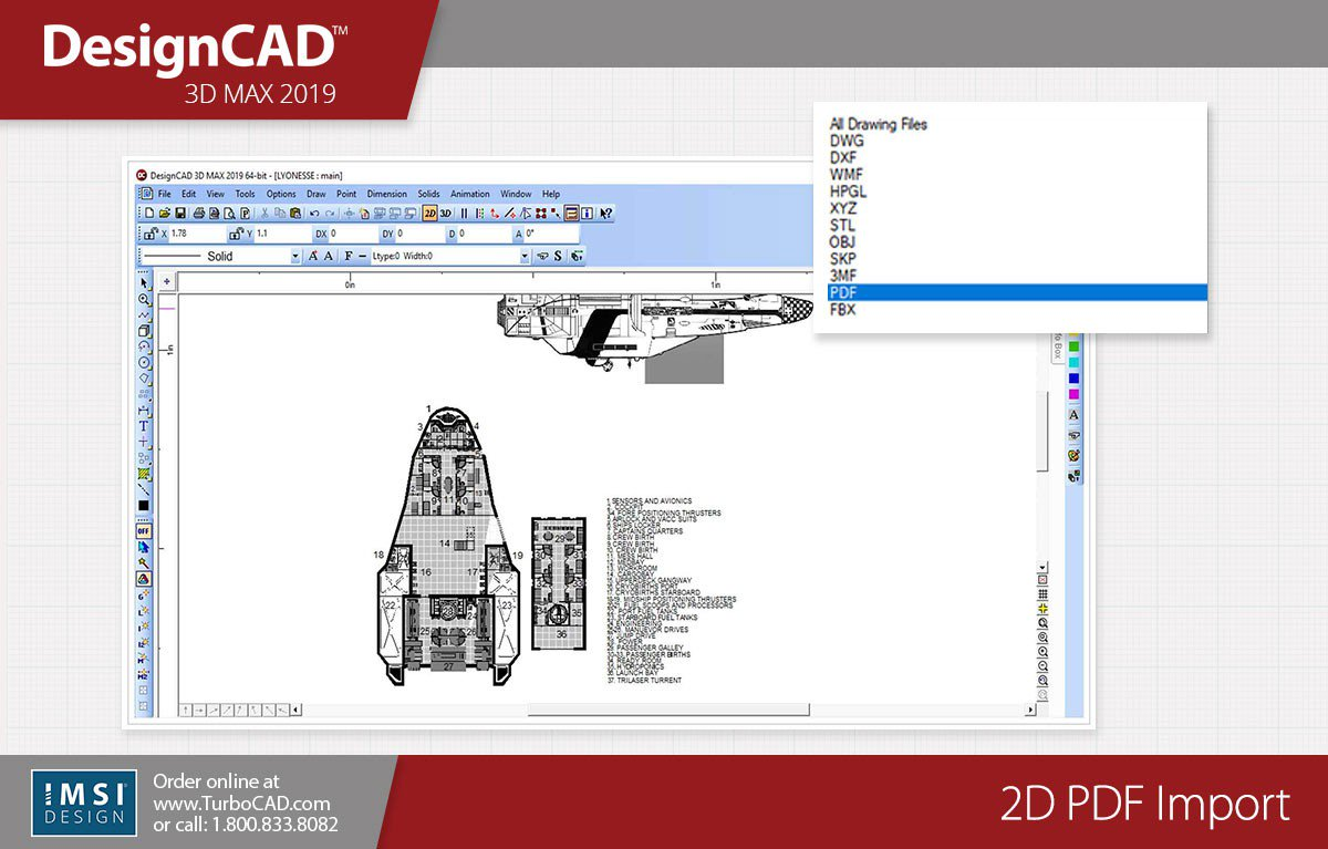 Download IMSI DesignCAD 3D Max 2019 v28.0 x86 x64 full license
