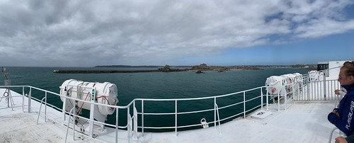 iphoneography panorama condorferries ferry jersey