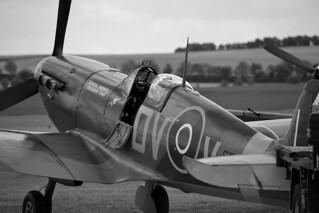 Supermarine Spitfire Mk Vc EE602 at Duxford 2019