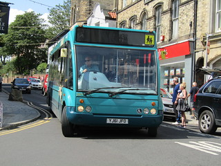 arriva north east solo 2871 YJ61JFO