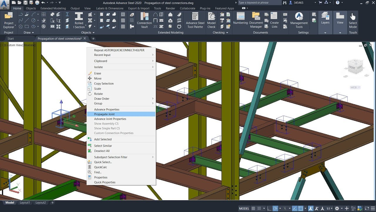 Download Autodesk Advance Steel 2020 x64 full license working forever