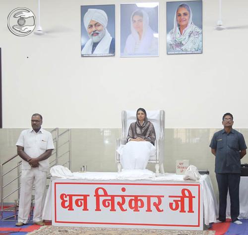A view of morning Satsang programme