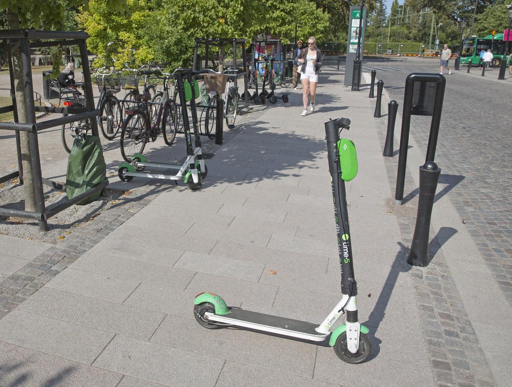 20190807 Elsparkcykel i Lund 0232
