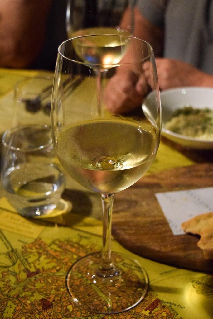 Italian Wine Flight at The Compasses Inn