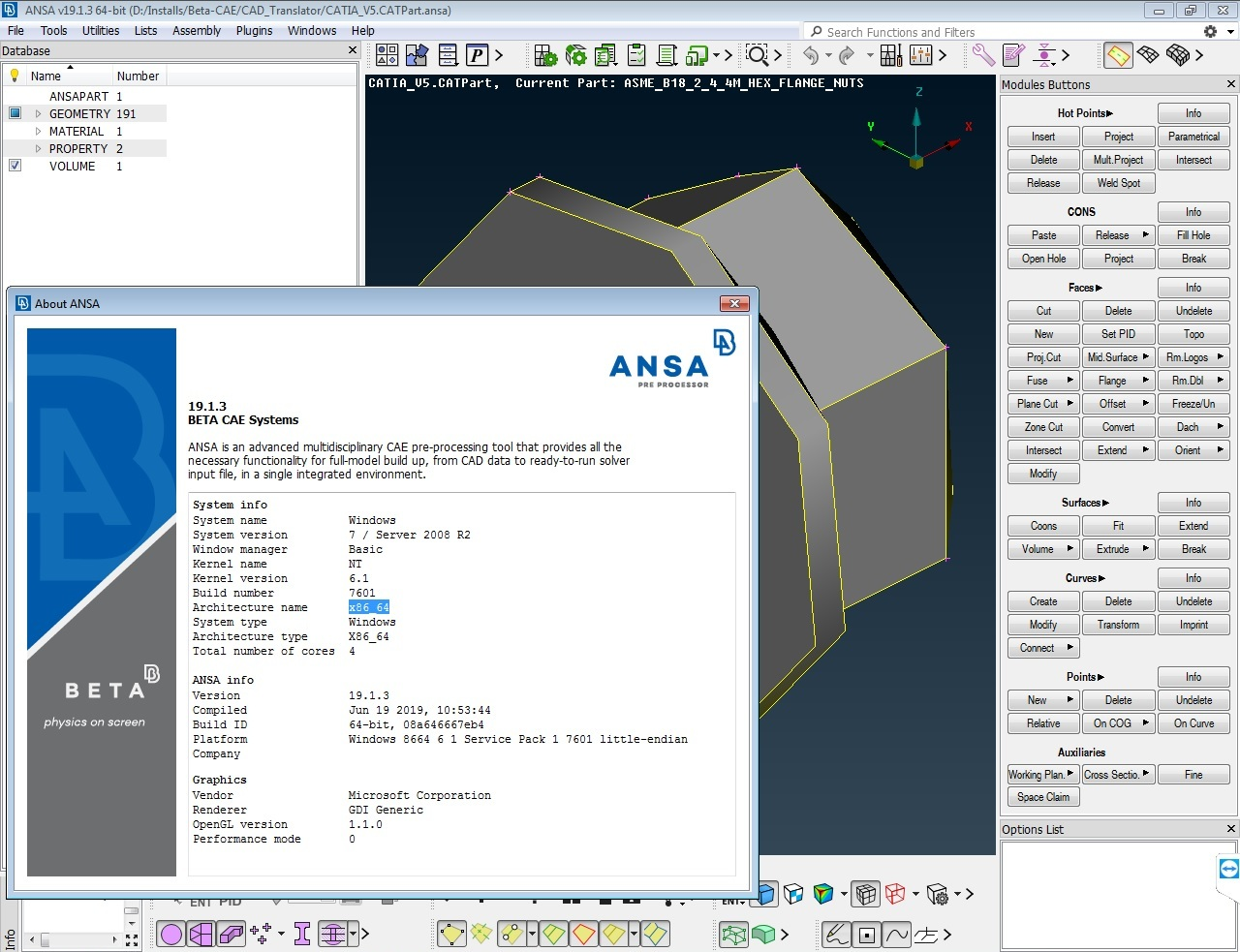 Download BETA-CAE Systems v19.1.3 Win64 full license 100% working