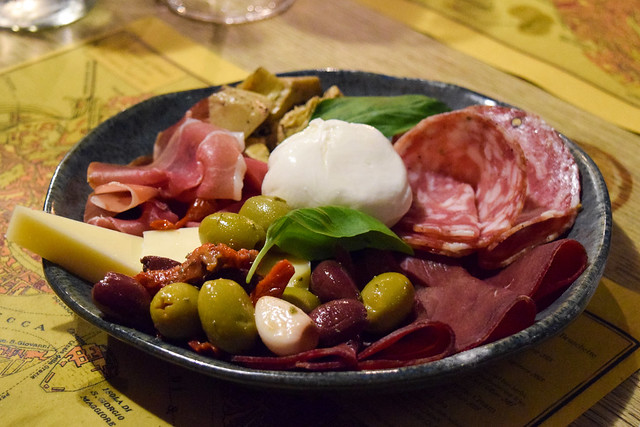 Russell Norman's Antipasto at The Compasses Inn