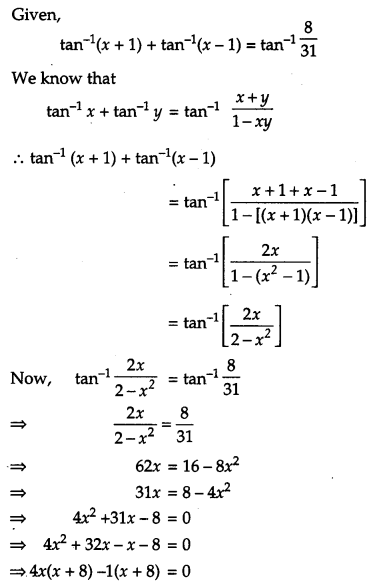 CBSE Previous Year Question Papers Class 12 Maths 2019 Outside Delhi 111