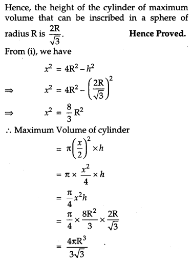 CBSE Previous Year Question Papers Class 12 Maths 2019 Outside Delhi 66
