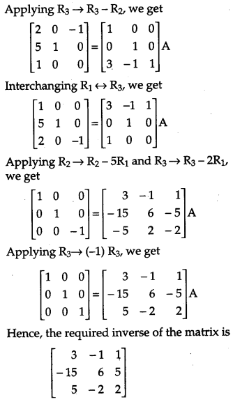 CBSE Previous Year Question Papers Class 12 Maths 2019 Outside Delhi 61